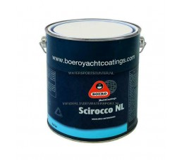 Scirocco NL Antifouling 2,5 Liter Rood
