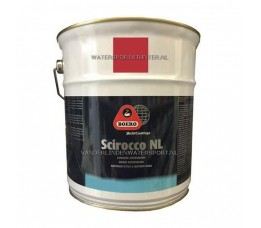 Scirocco NL Antifouling 5 Liter Rood