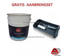 Scirocco NL Antifouling 5 Liter Blauw Donker + VERFSET !!!