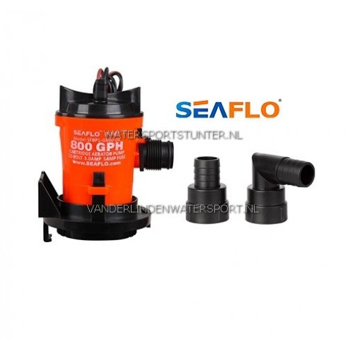 Bilgepomp Seaflo 12 Volt 50 Liter