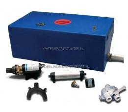 Vuilwatertank Set 12V Recht 47 Liter