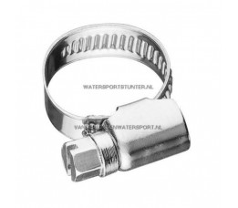 Slangklem RVS W4 50-70 mm / Band 9 mm