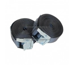 Spanbanden Set Klemgesp Zwart 2x 4,5 Meter