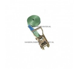 Spanband Ratelgordel Groen 3 Meter
