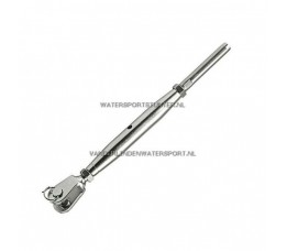 Wantspanner RVS Gaffel-Terminal 4 mm