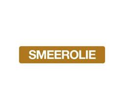 Sticker Smeerolie 10 x 2 cm
