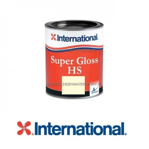 International Super Gloss HS Bootlak 253 Pearl White