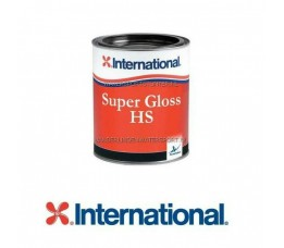 International Super Gloss HS Bootlak 208 Traffic Blue