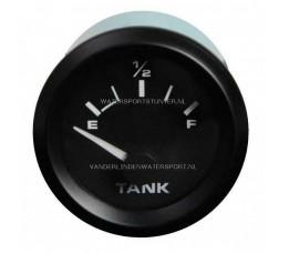 Tankmeter Uni 240-33 Ohm 12 Volt Zwart