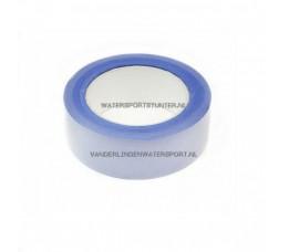 Afplaktape UV Blauw 38 mm