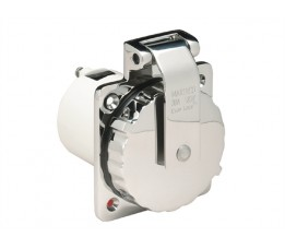 Marinco Stopcontact RVS 16 Ampere