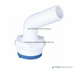 Trudesign Slangpilaar 1-1/2 Haaks 120 Graden 25 mm
