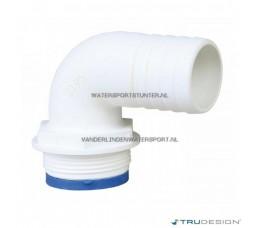 Trudesign Slangpilaar 1-1/2 Haaks 90 Graden 25 mm