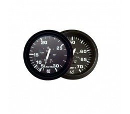 Uflex Ultra Zwart Snelheidsmeter 0-95 km