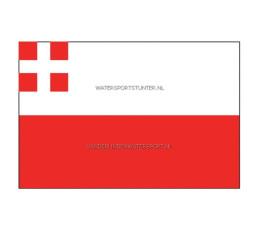 Vlag Utrecht 20x30 cm