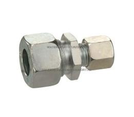Koppeling Recht Verloop 15 x 12 mm Gas Staal