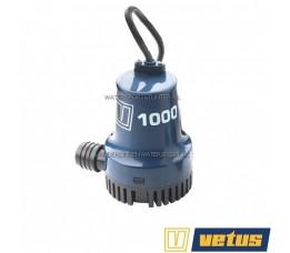 Bilgepomp Vetus 12 Volt 50 Liter