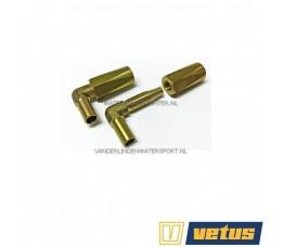 Vetus HS1037MS Slangkoppelingen 8x12 mm