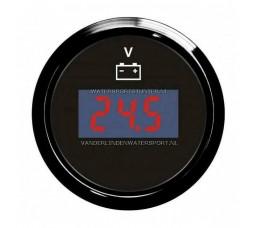 Voltmeter Digitaal 8 / 32 Volt Zwart