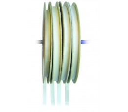 Zeilband Polyester 20 mm Wit