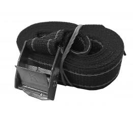Spanband Klemgesp Zwart 2,5 Meter