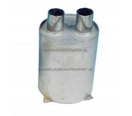Waterlock RVS Verticaal 40 mm