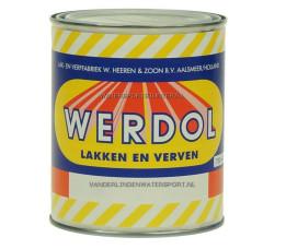 Werdol Grondverf Wit 750 ml