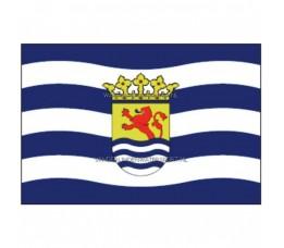 Vlag Zeeland 30x45 cm