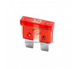 Steekzekering 10 Ampere Rood