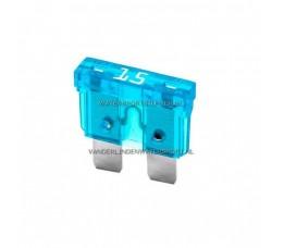 Steekzekering 15 Ampere Blauw