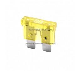 Steekzekering 20 Ampere Geel