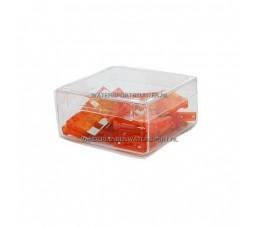 Steekzekering 5 Ampere Licht Bruin / 5 Stuks