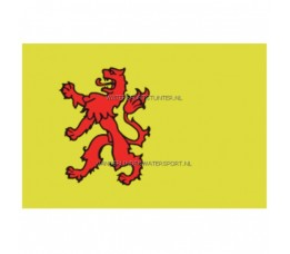 Vlag Zuid-Holland 20x30 cm