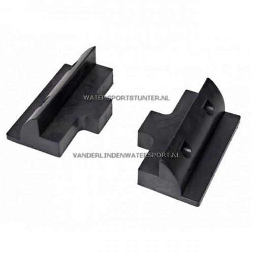 Beaut Verbindingsteunen Set 15 cm Zwart