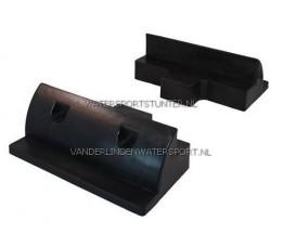 Verbindingsset 15 cm Zwart